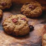 עוגיות שיבולת שועל, חמוציות וצ'ילי