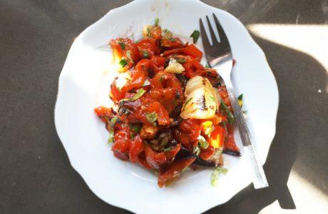 סלט ירקות צלויים של יפית