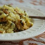 באחש – אורז ירוק עם פרגיות